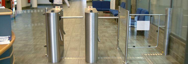 full height turnstile installation manual