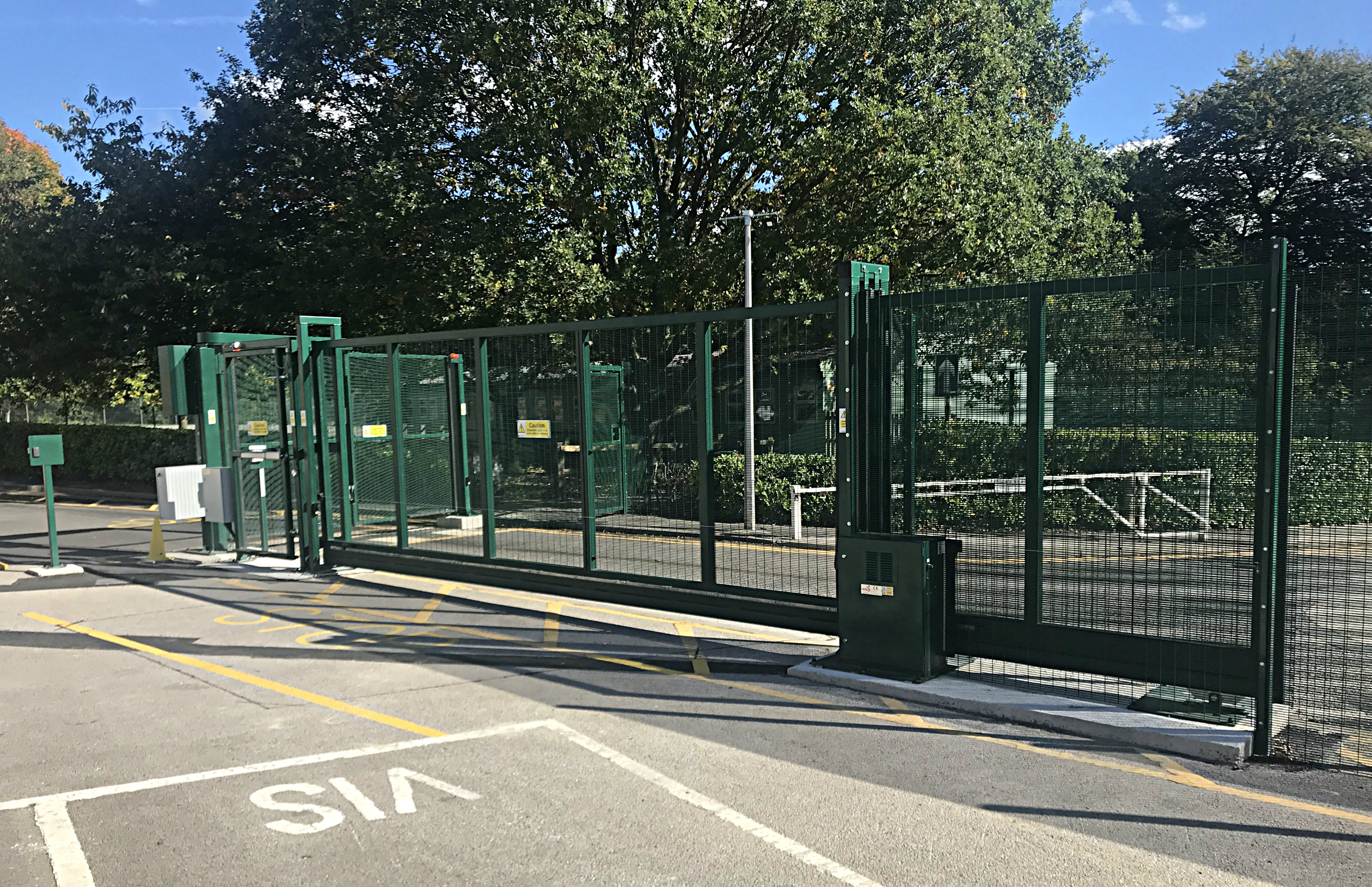 Automatic Bi folding Gate - Security Solutions