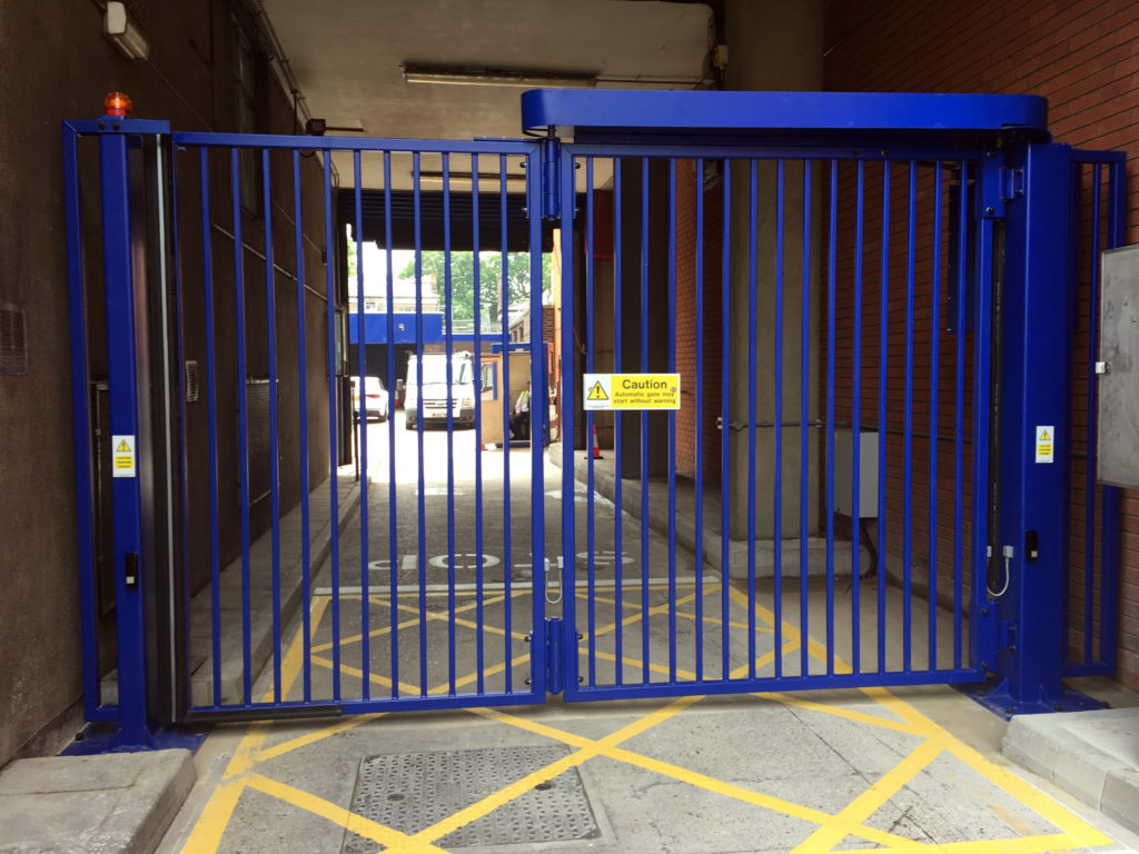 Bi Fold Security Gates