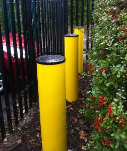 SSFB Cobra Crash Tested Fixed Bollard - Security Solutions GB