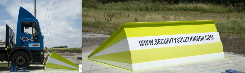 SSSB Bison Crash Rated Shallow Mounted Blocker - Security Solutions GB