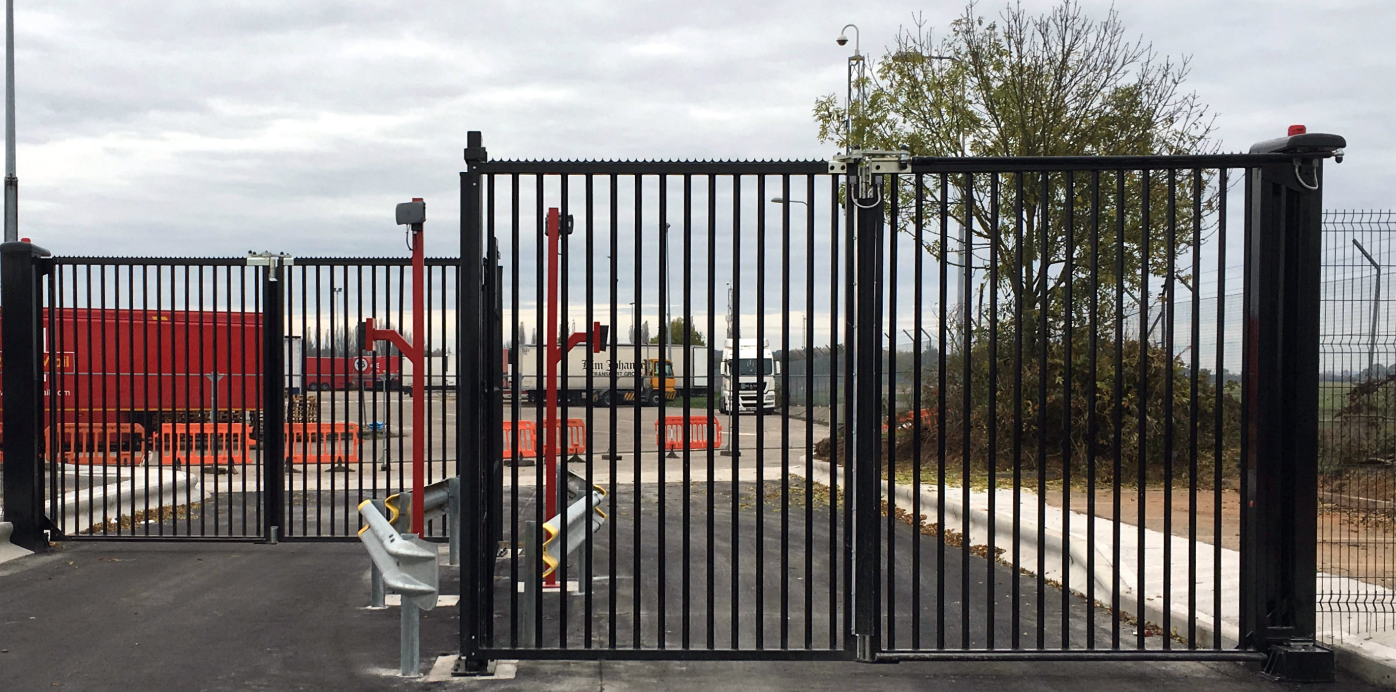 Security Solutions Bi Folding Gates
