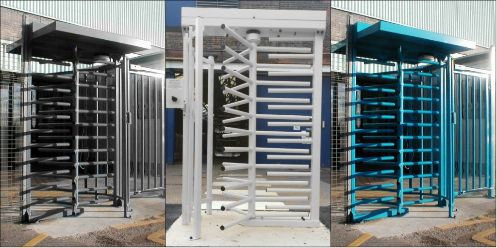 Full height turnstile systems security solutions gb